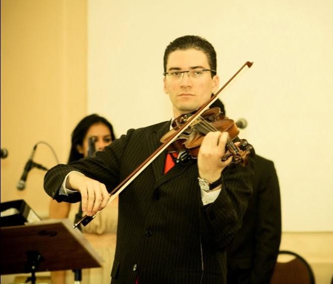 Violinista Thiago Bernardes - Casamento realizado na Primeira Igreja Batista de Niterói