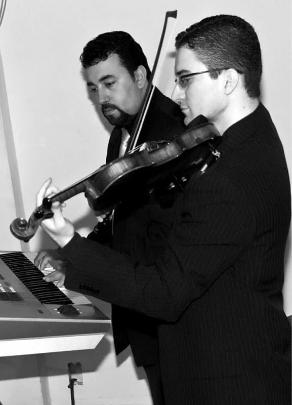 Violinista Thiago Bernardes e Pianista Hugo Poubel