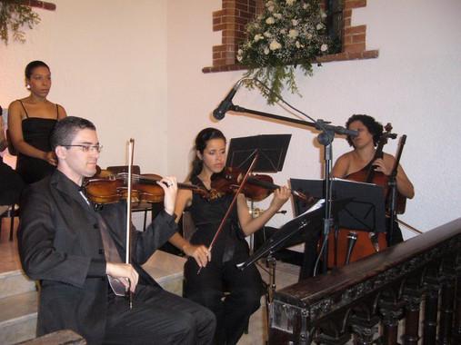 Violinista Thiago Bernardes - Casamento realizado na Igreja Presbiteriana Betânia de Icaraí
