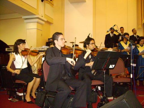 Violinista Thiago Bernardes - Concerto realizado na Primeira Igreja Batista de Niterói