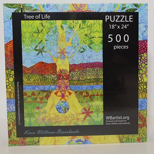 500 Jigsaw Puzzle: Tree of Life