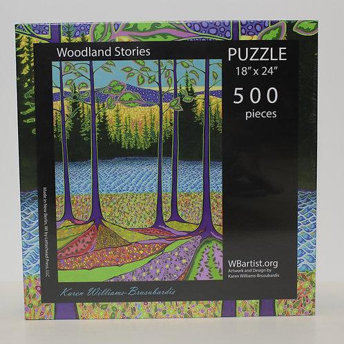 500 Jigsaw Puzzle: Woodland Stories