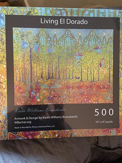 500 Jigsaw Puzzle: Living El Dorado
