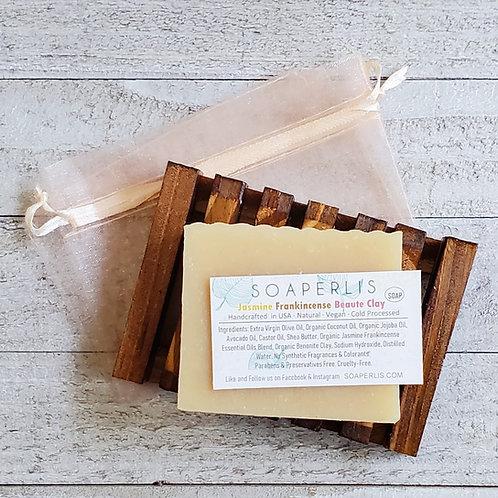 Beauty Sleep Jasmine Frankincense Beaute Clay Soap