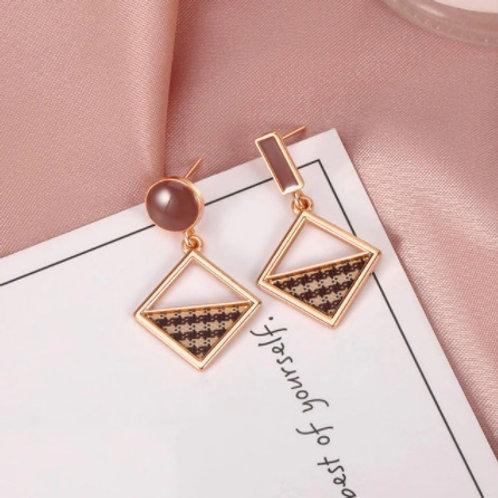 Stunning Square Earrings