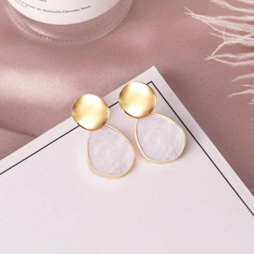 Stunning White Earrings