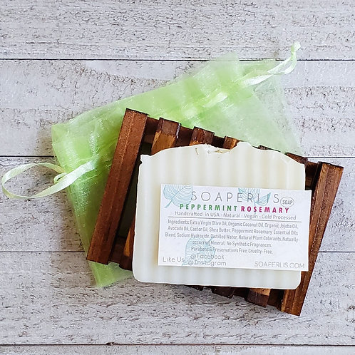 Refreshing Peppermint Rosemary Soap
