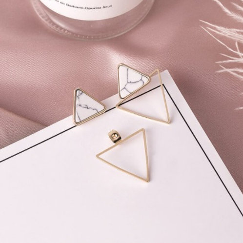 Stunning Classy Triangle-Shaped Earrings