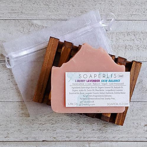 Skin Balancing Juniper Berry Lavender Soap