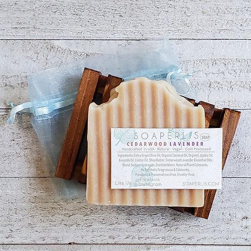 Charming Cedarwood Lavender Soap