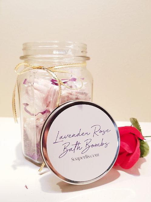 A Classy Jar of 4 Bath Bombs