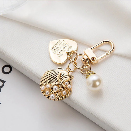 Lovely Petite Korean Heart Key Chain_Design 1