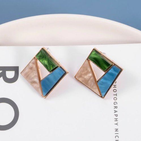 Blue Collections Classy Earrings