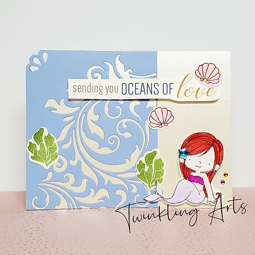 Sending You Oceans Of Love Card