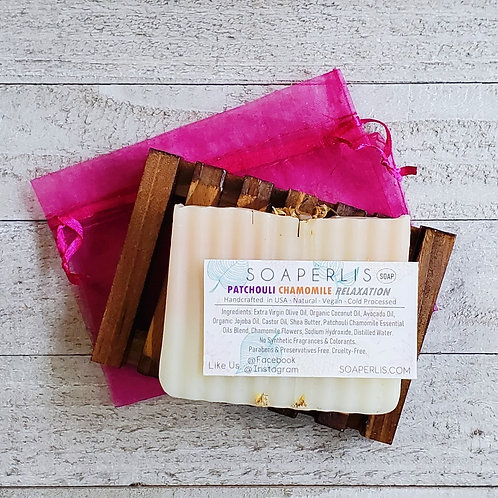 Relaxation Patchouli Chamomile Soap