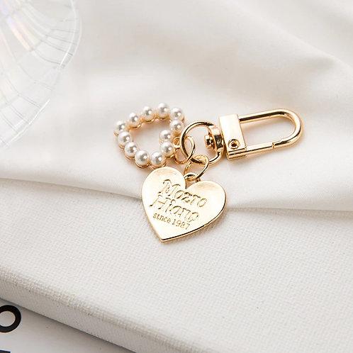 Lovely Petite Korean Heart Key Chain_Design4