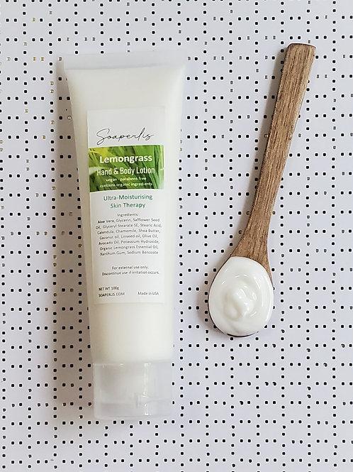 Refreshing Lemongrass Hand and Body Lotion 100g