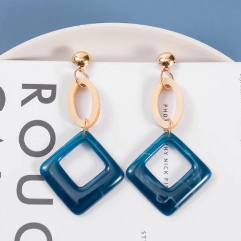 Blue Collection Stylish Dangle Drop Earrings