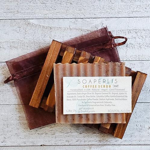 Exfoliating Coffee Scrub Soap