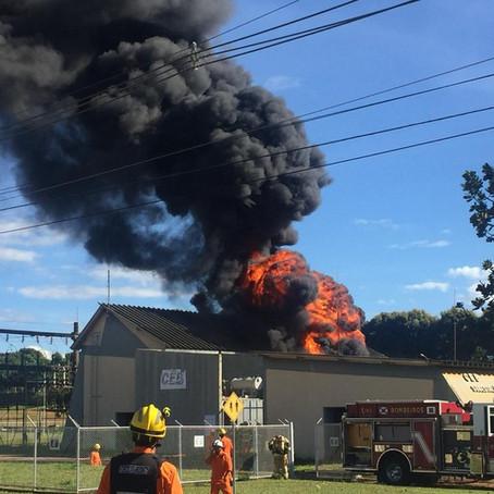 Incêndio em estação da CEB deixa 17 mil imóveis de Brasília sem energia elétrica