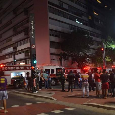Prédios em SP passam a ser multados por falta de segurança contra incêndio