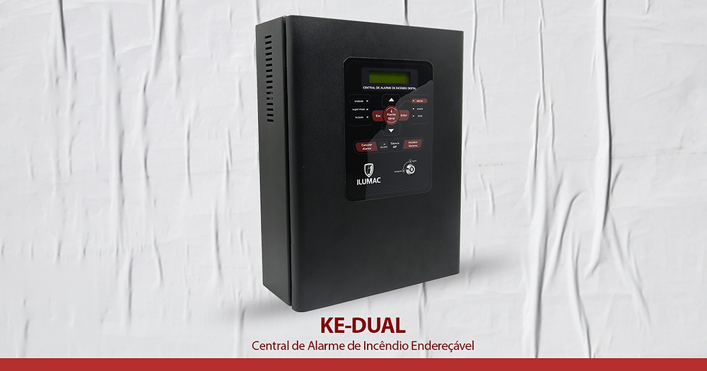 central de alarme de incêndio, alarme de incêndio, central de alarme de incêndio endereçável
