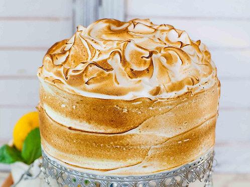 Lemon/Apple Meringue Cake 6'' 6-12 ppl