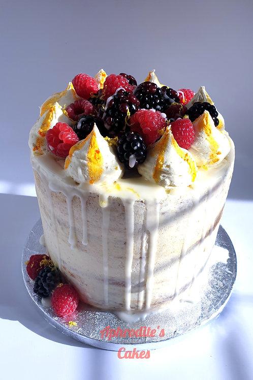 Lemon Drizzle Elderflower Cake 6'' 6-10ppl