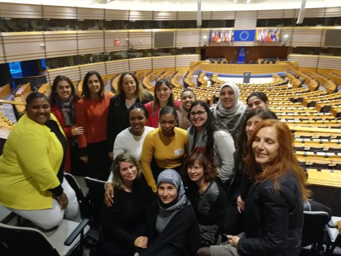 Maisaa on the European Parliament 🏛