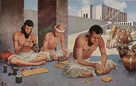 Ancient soap techniques