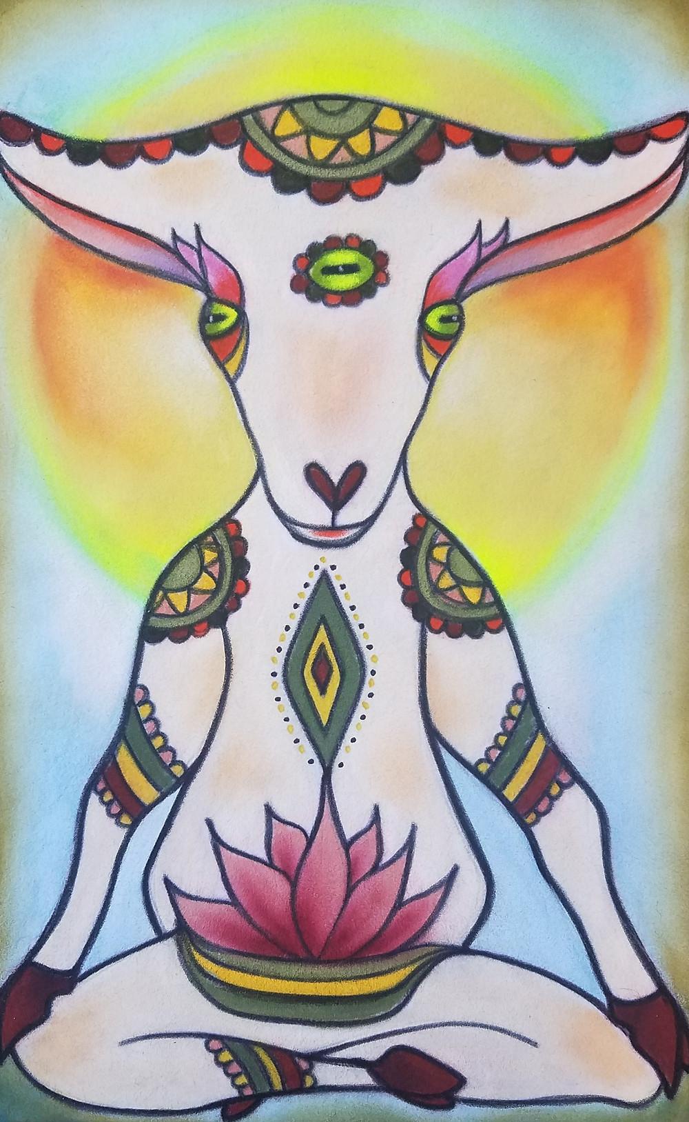 goat yoga