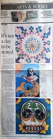 LA Times day of the dead article