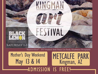Kingman Festival of the Arts....here we come!