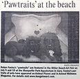 Gary Post Tribune pet portrait article