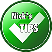 Nicks Tips