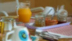 Petit déjeuner Domaine de Montaut