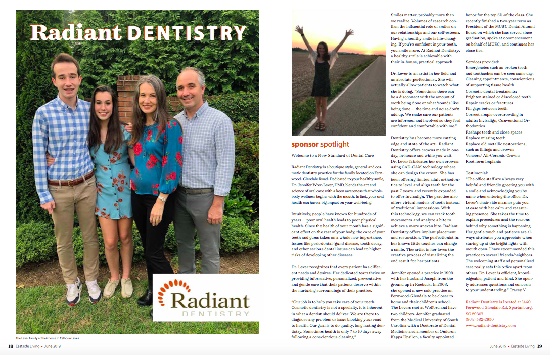 Radiant Dentistry June 2019