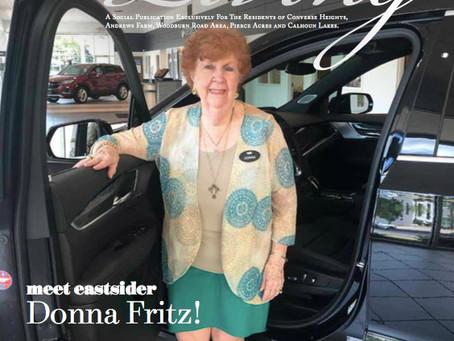Meet Eastsider Donna Fritz!   August Issue 2020