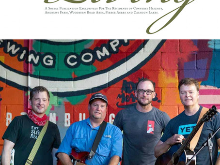 Meet the Eastside's Band, The Millwrites!  April 2021 Issue
