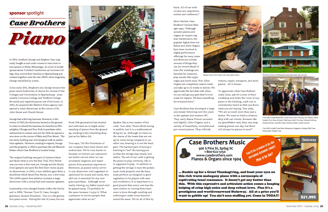 Case Piano Nov 2019