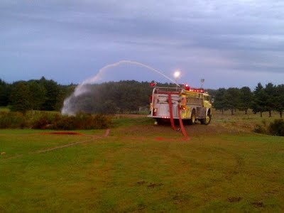 Engine 4 Providing Water Supply