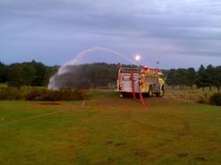 Engine 4 Providing Water Supply