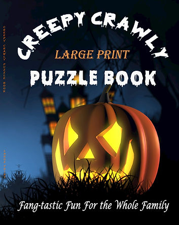 CREEPY CRAWLY LARGE PRINT PUZZLE BOOK