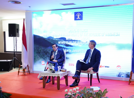 Indonesia IP Update : Cooperation Between The European Union and DGIP of Indonesia
