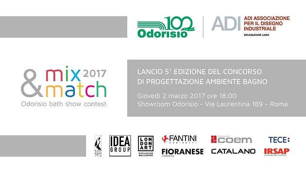 Odorisio Ceramiche Via Laurentina.Concorso A Premi Odorisio Mix Match 2017 Roma Progetta