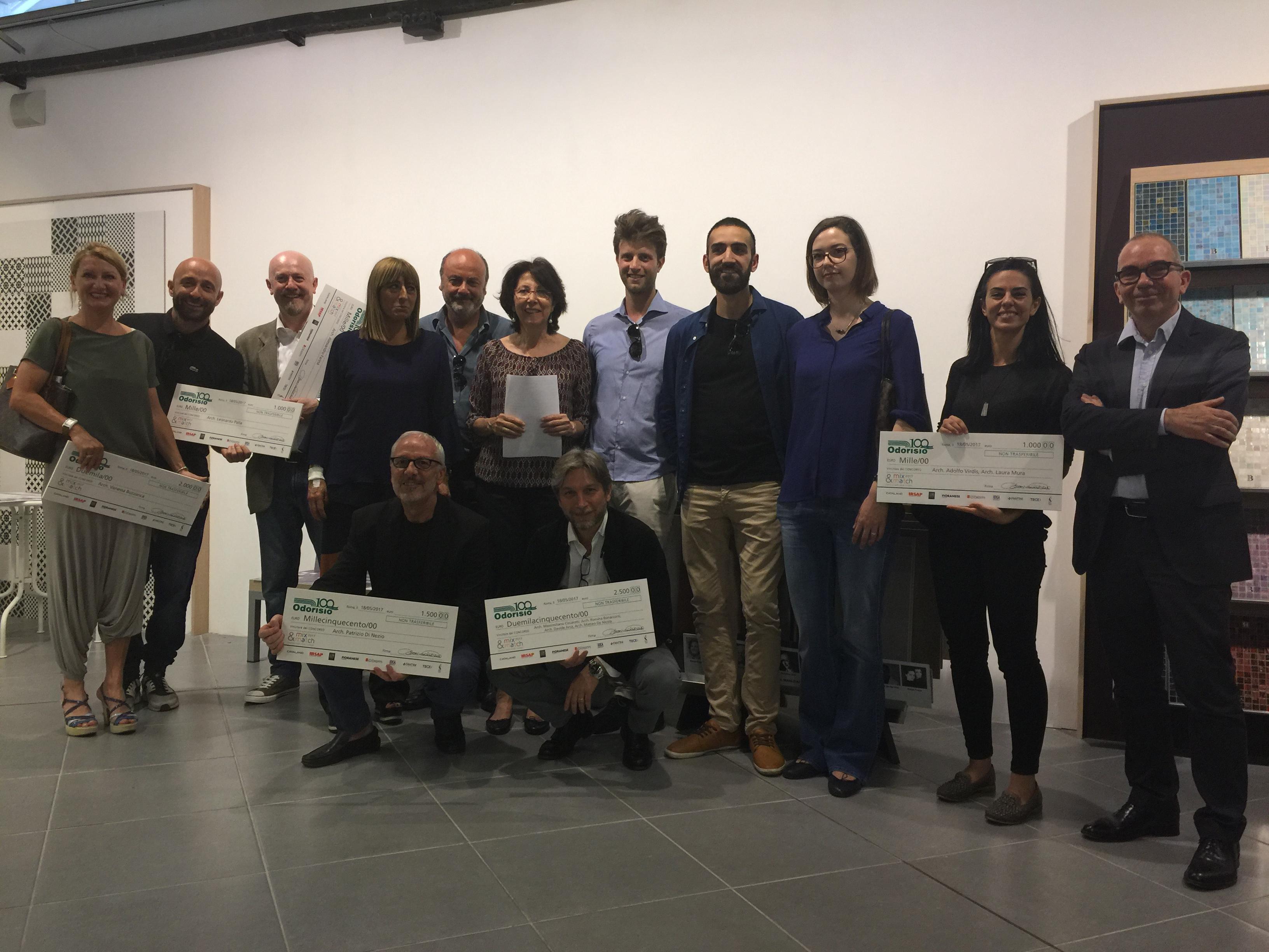 concorso odorisio mix & match 2017: i vincitori. | roma progetta ... - Odorisio Arredo Bagno Roma