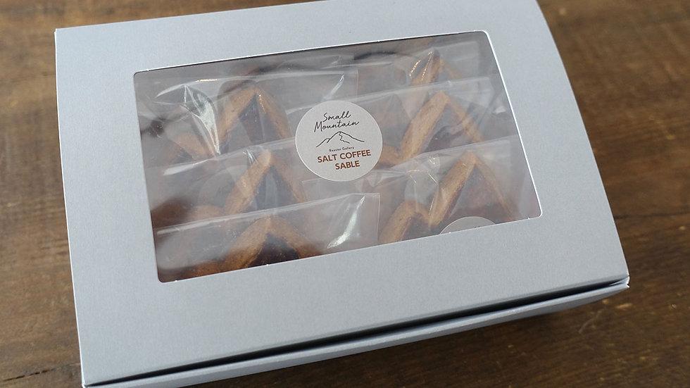 ソルトコーヒーサブレ 10個(箱入り)
