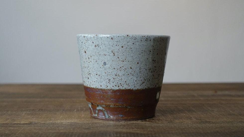 オリジナル陶器フリーカップ(紅柄)