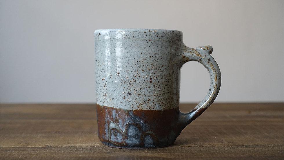 オリジナル陶器マグ(紅柄)