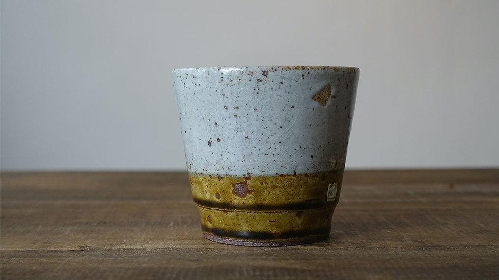 オリジナル陶器フリーカップ(飴釉)